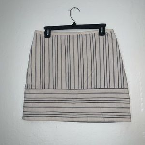 Madewell linen blend skirt